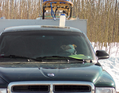 wooden dog box for truck